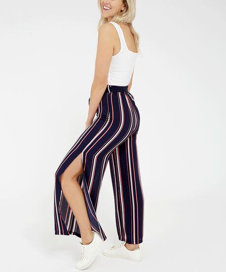 sleeveless jumpsuit - wb, Stripe, hi-res