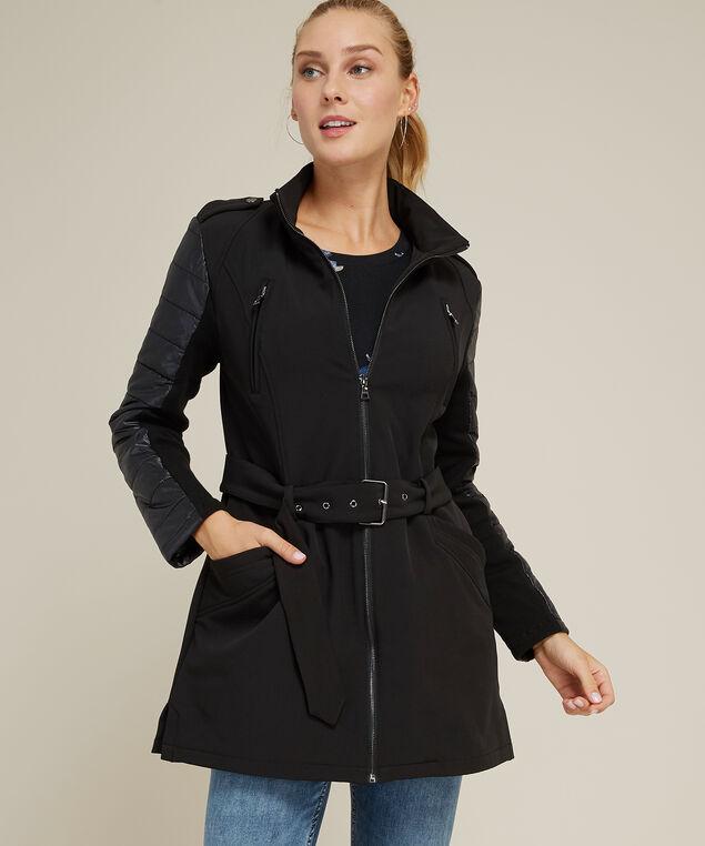 soft shell jacket - wb, BLACK, hi-res
