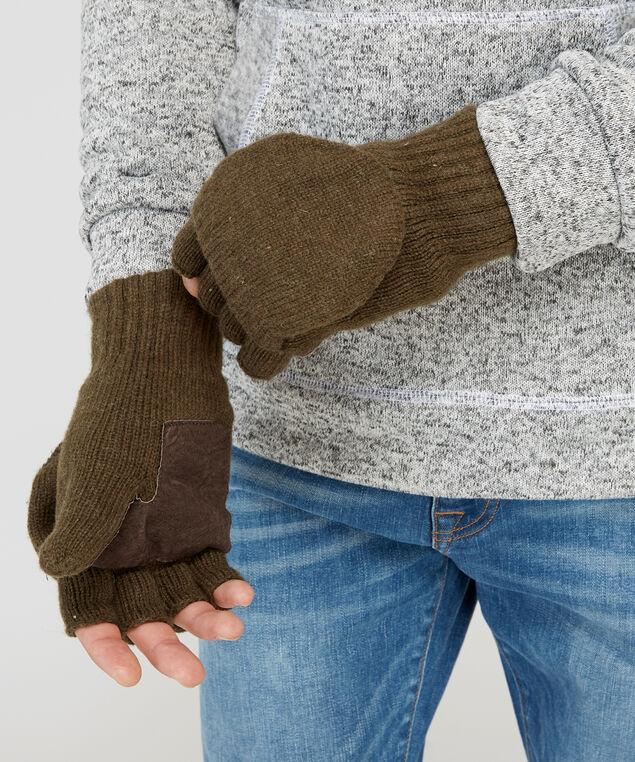 flip glove, BROWN, hi-res