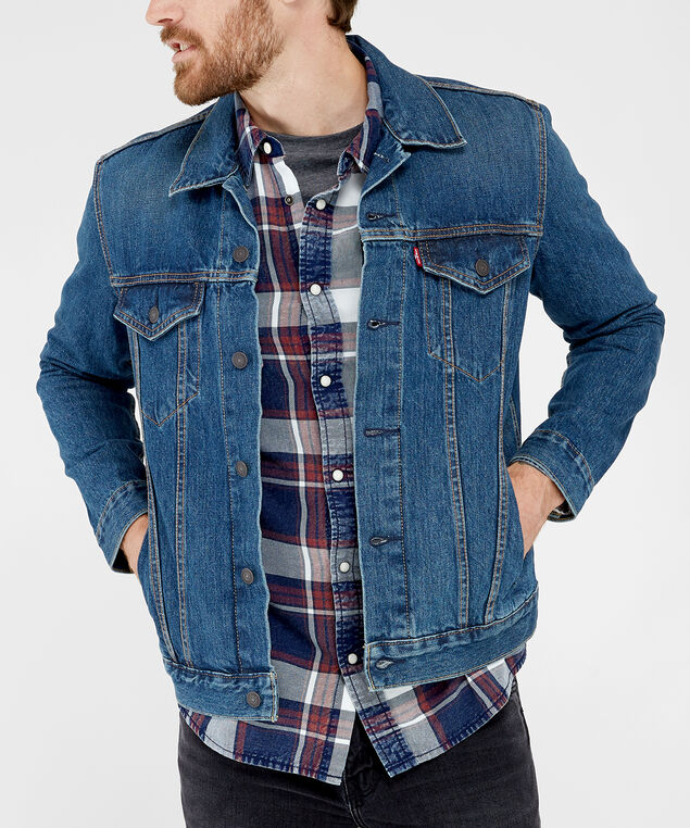 denim jacket - wb, DENIM, hi-res
