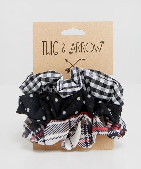 3 pack of mini scrunchies, MULTI, hi-res