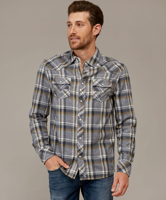 hudd, GREY PLAID, hi-res