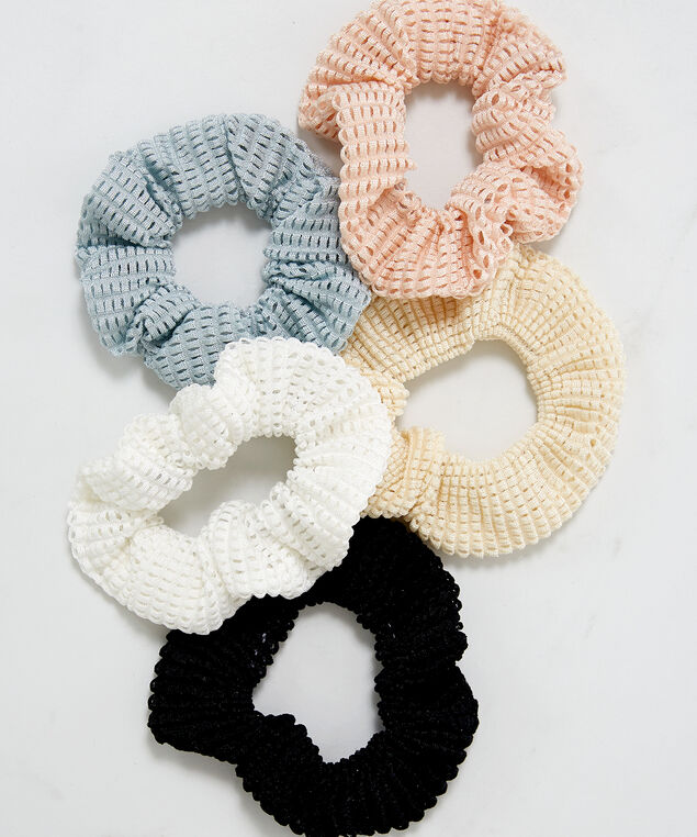 mesh scrunchies, Assorted, hi-res