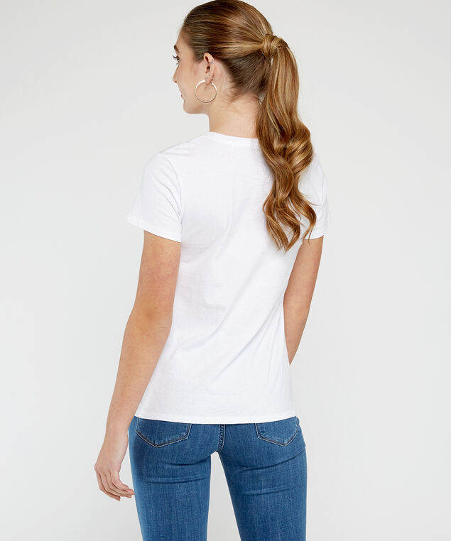 levis perfect tee, White, hi-res