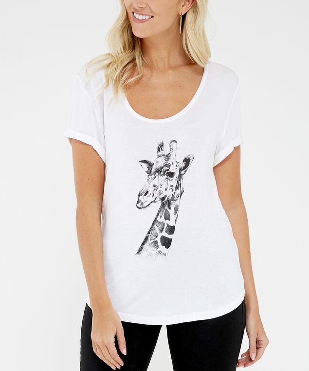 giraffe, White, hi-res