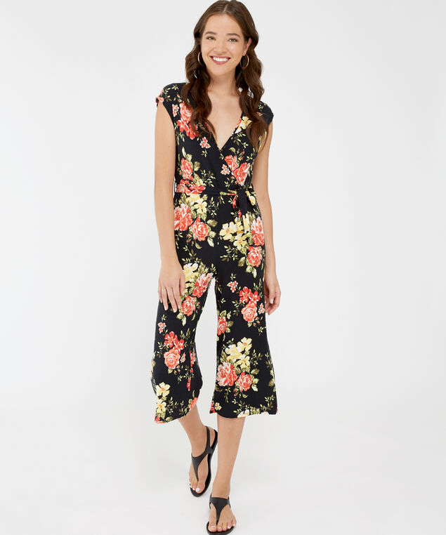 sleeveless jumpsuit - wb, FLORAL, hi-res