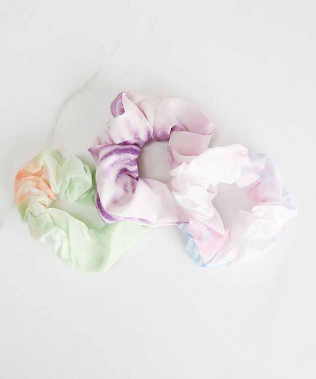 3 pack scrunchies, Multi
