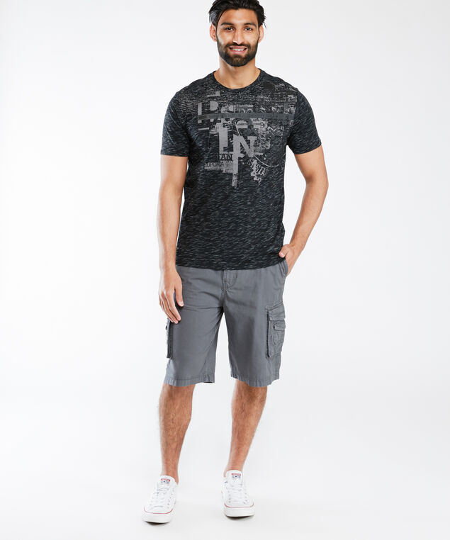 screen print tee shirt, Black