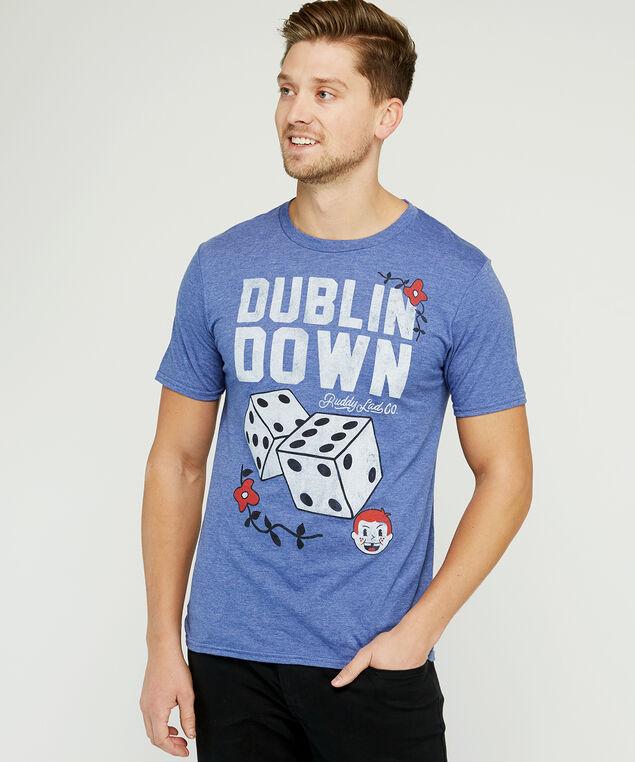 dublin down t-shirt, Blue, hi-res