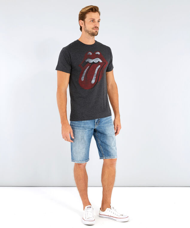 rolling stones tee, CHARCOAL HEATHER, hi-res