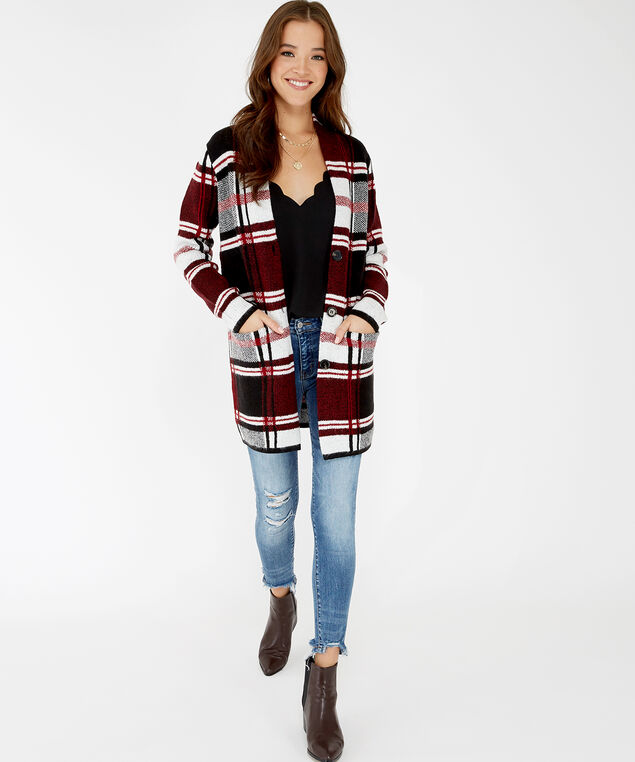 katherine, Red Plaid, hi-res