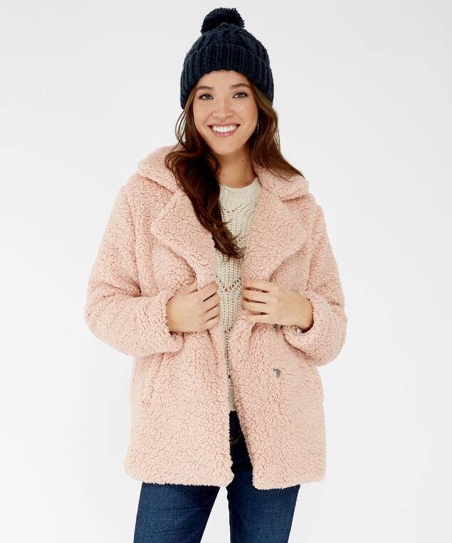 teddy coat - wb, Rose, hi-res