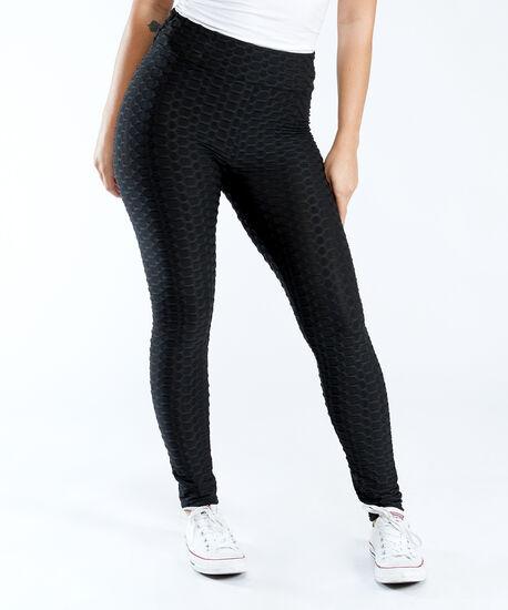textured legging, Black, hi-res