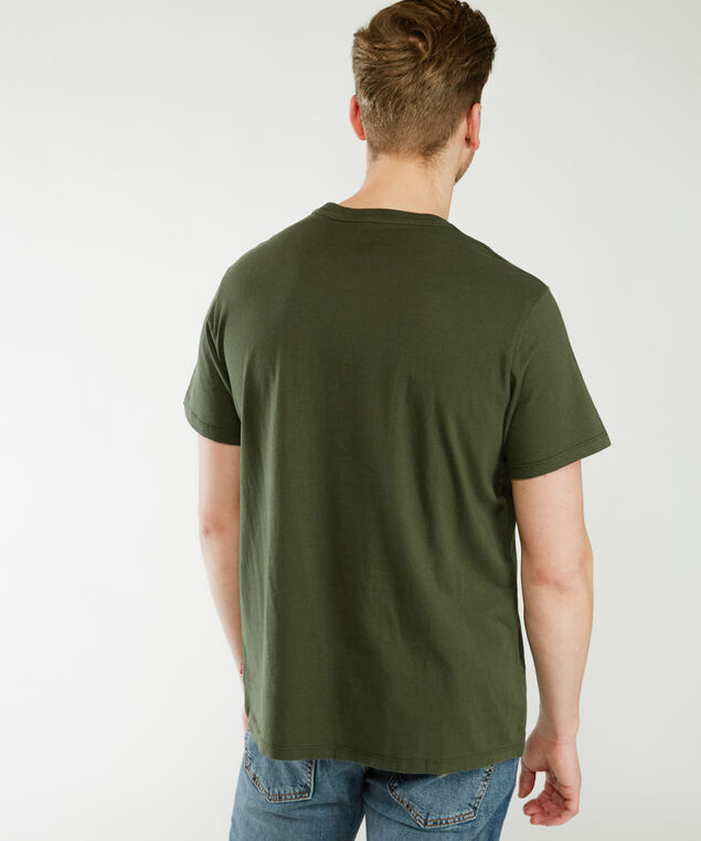 all one people graphic tee - wb, Dark Olive
