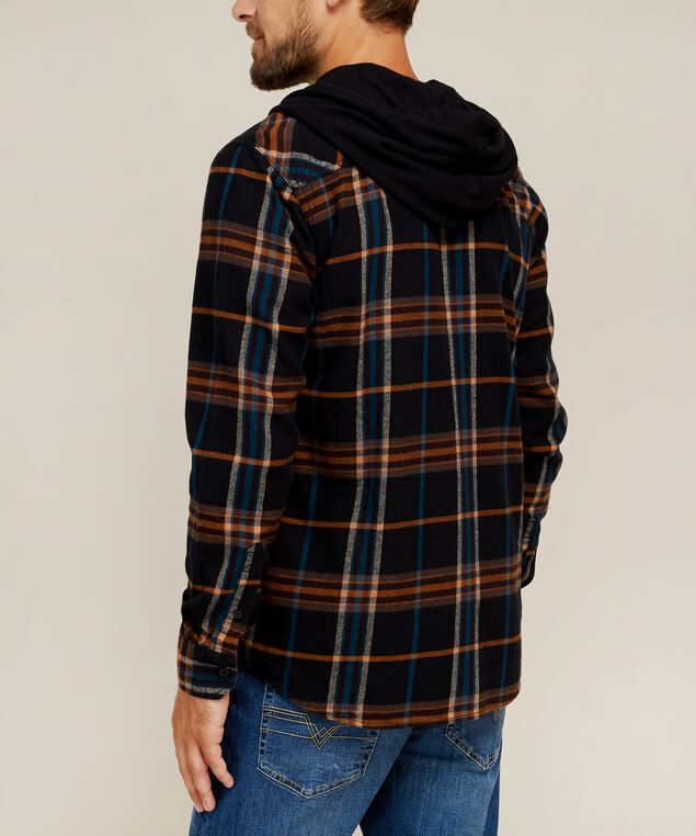 ivan with hood, BROWN PLAID, hi-res
