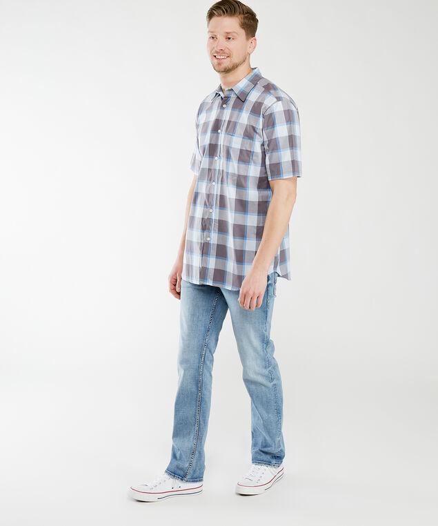 ocean current plaid shirt, Neutral Pattern