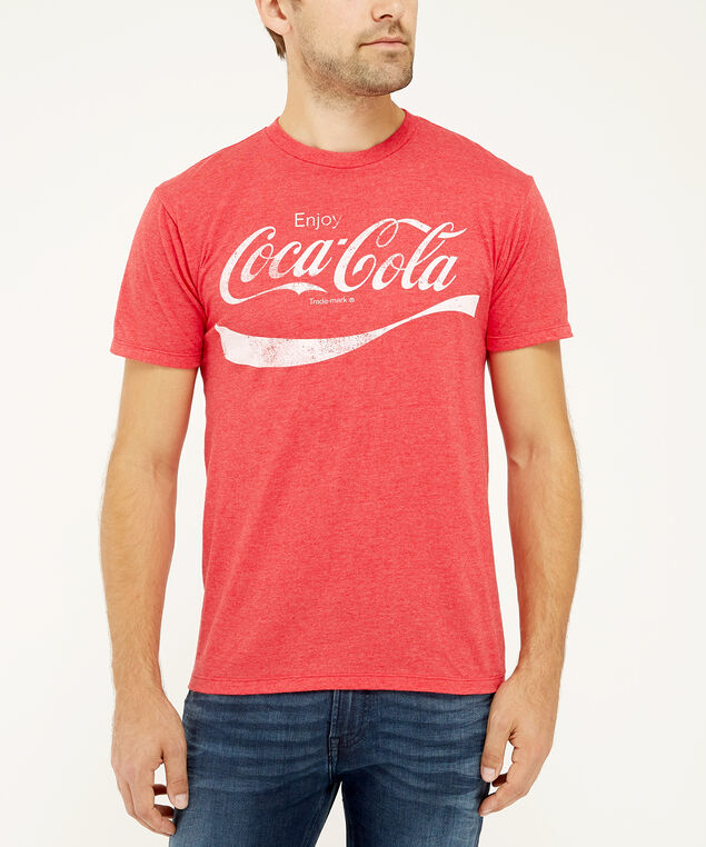 coca cola tee, Red, hi-res