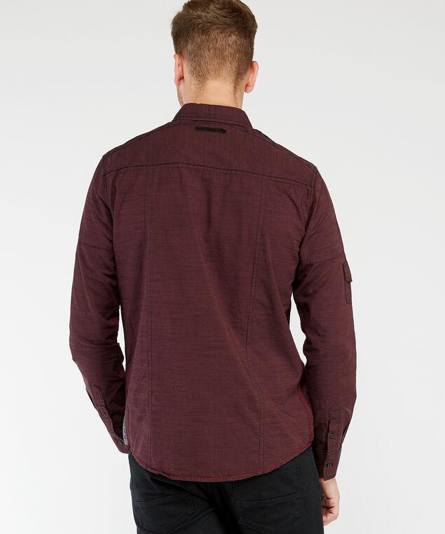 long sleeve shirt, Wine
