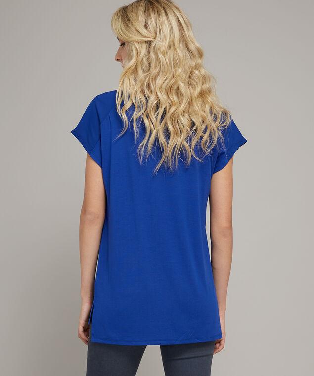 v neck with zipper pocket - wb, ROYAL BLUE, hi-res