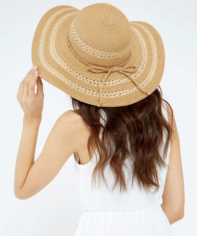floppy hat, STRAW, hi-res
