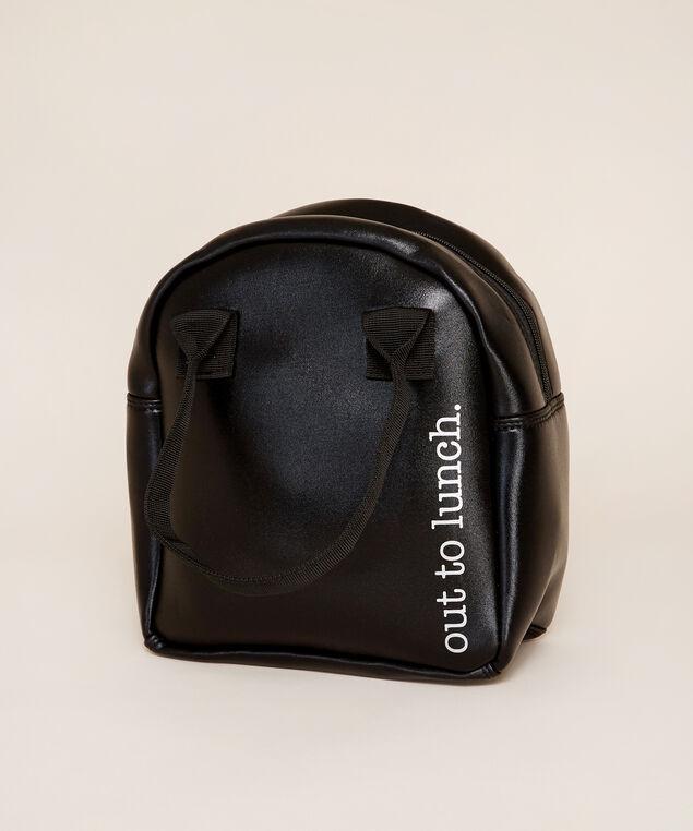 black lunch tote - wb, BLACK, hi-res
