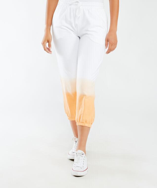 Dip dye jogger, Orange