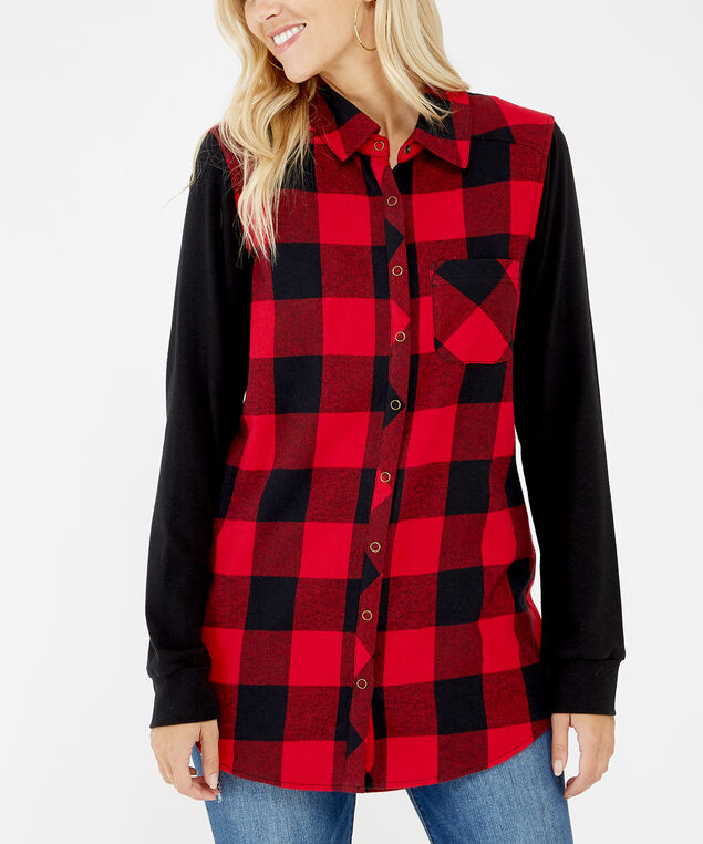 brooks, Red Plaid, hi-res