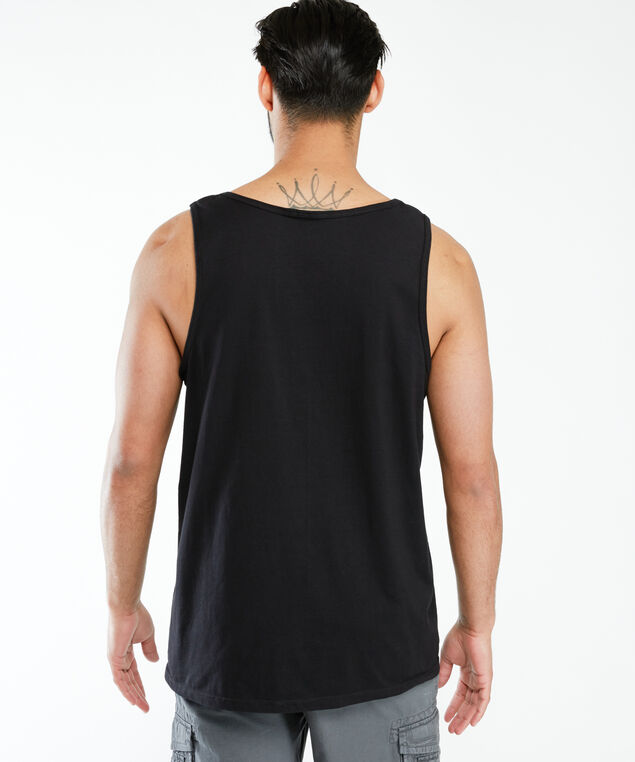 guiness license tank top, Black