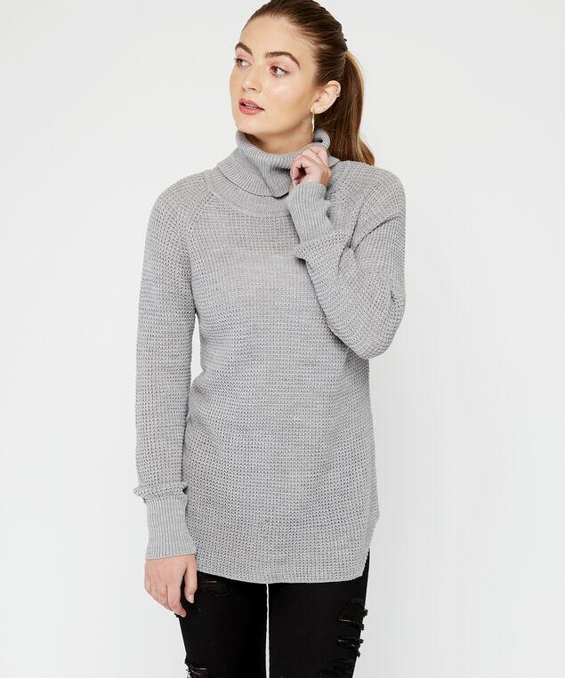 turtleneck, Grey, hi-res