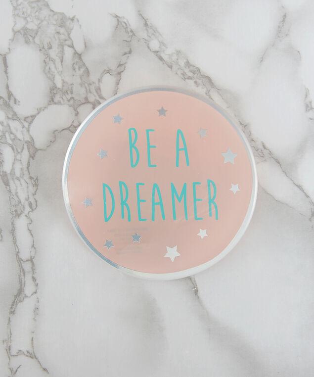 'Be a dreamer' trinket tray, PINK, hi-res
