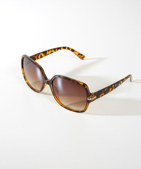 square tortoise sunglasses, TORTOISE, hi-res