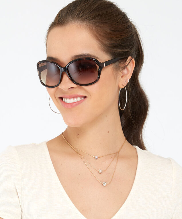 oversized square sunglasses, TORTOISE, hi-res
