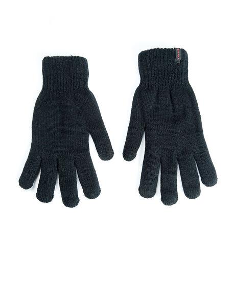 men's heat max gloves, Black, hi-res