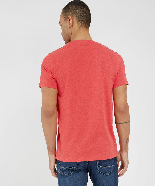 better at the top graphic tee, BLAZE RED MELANGE, hi-res