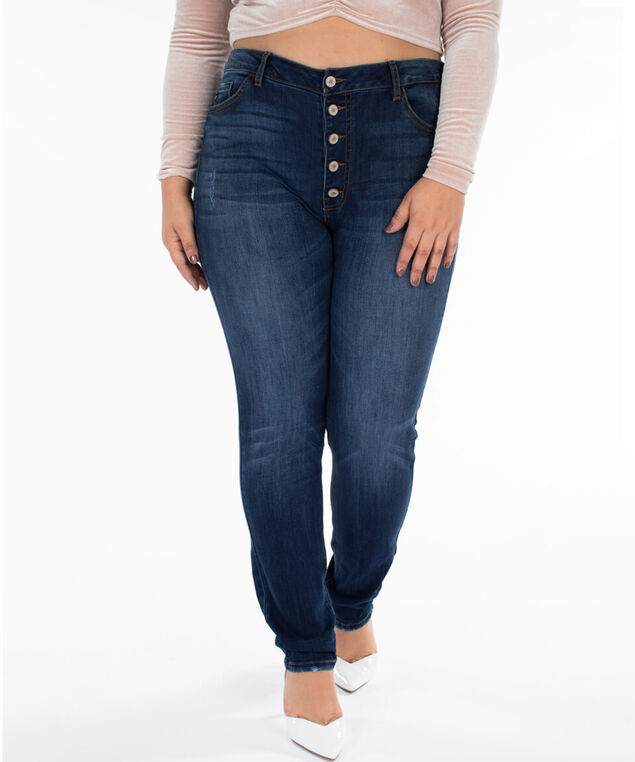 high-rise skinny plus size - wb, , hi-res