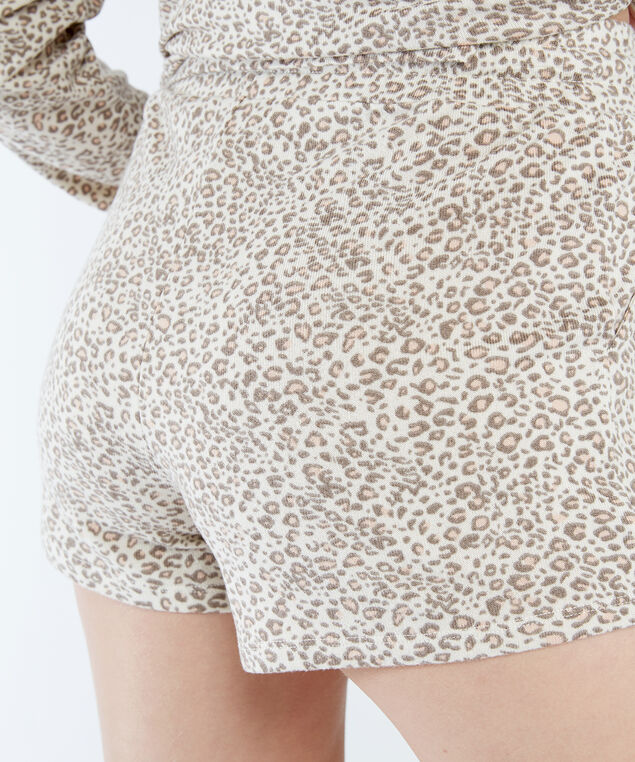 evie short, Leopard Print