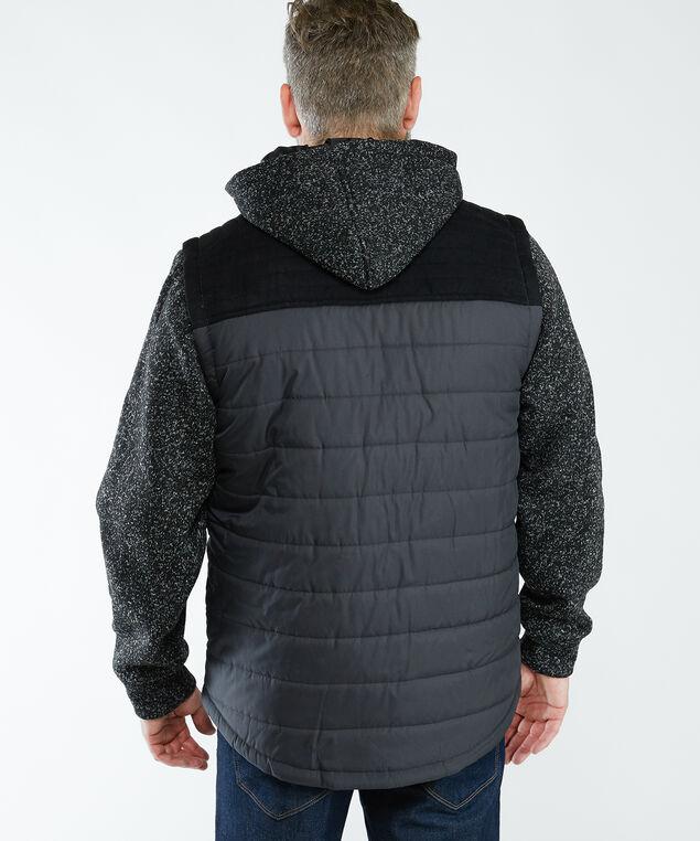 fooler vest jacket, Black Pt