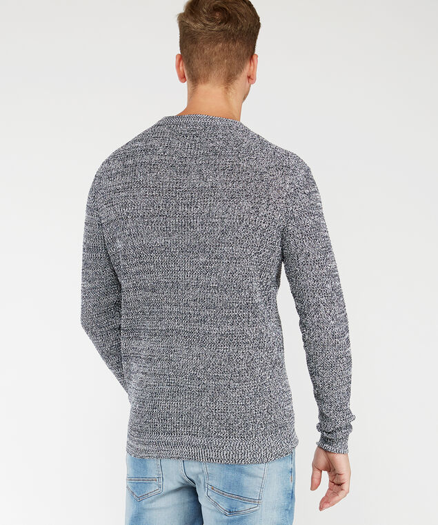 pullover sweater, Navy, hi-res