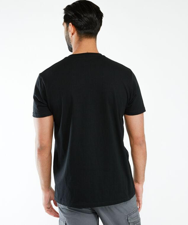 venom distressed tee shirt, Black