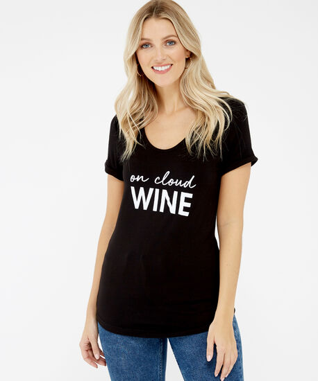 on cloud wine, Black, hi-res