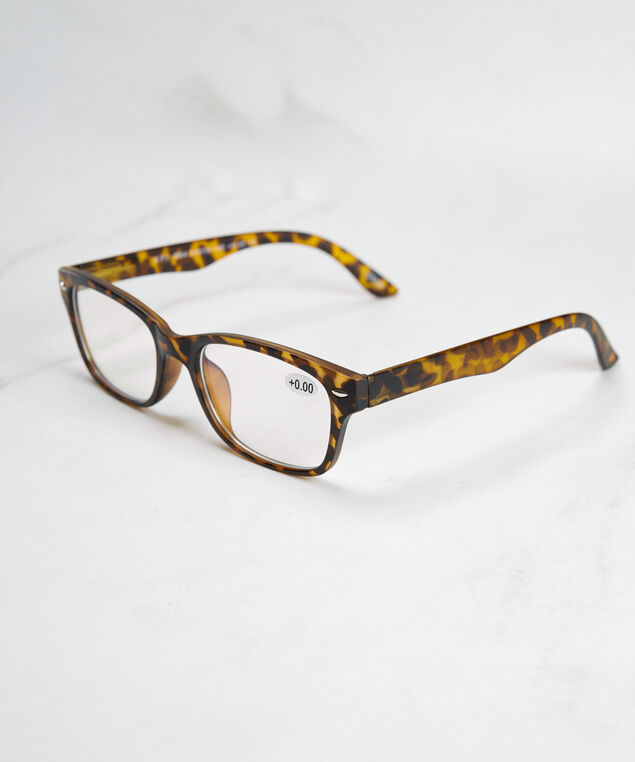 brown frame blue light protection glasses, Brown Pattern