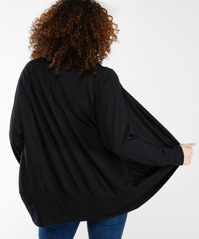 lydia lounge cardigan, Black