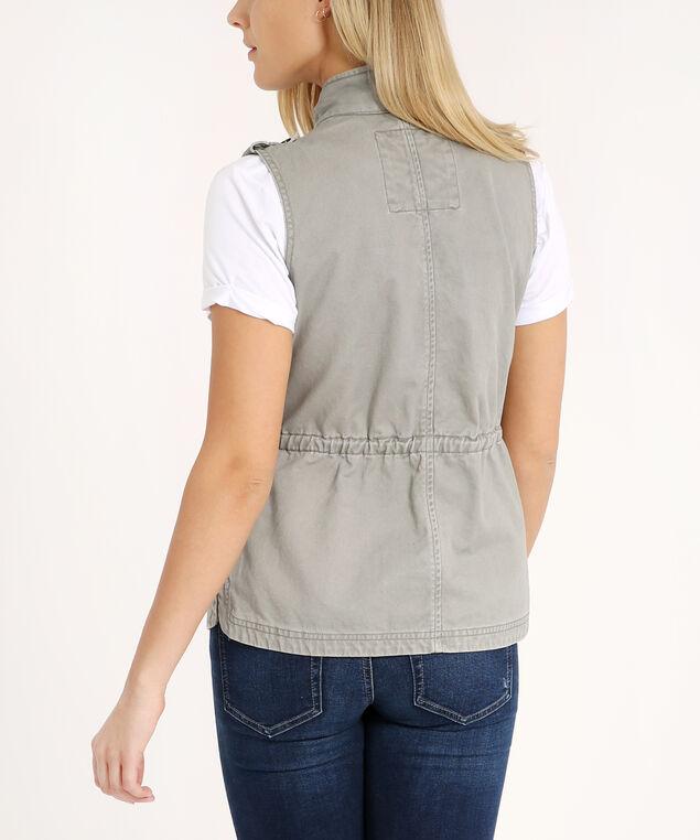 utility vest - wb, STONE, hi-res
