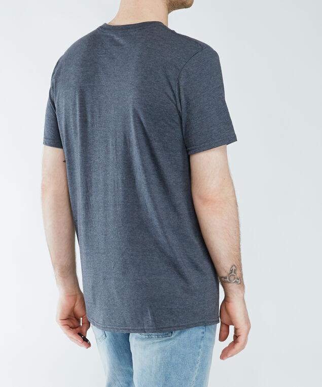 short sleeve screen tee, Grey Ptn