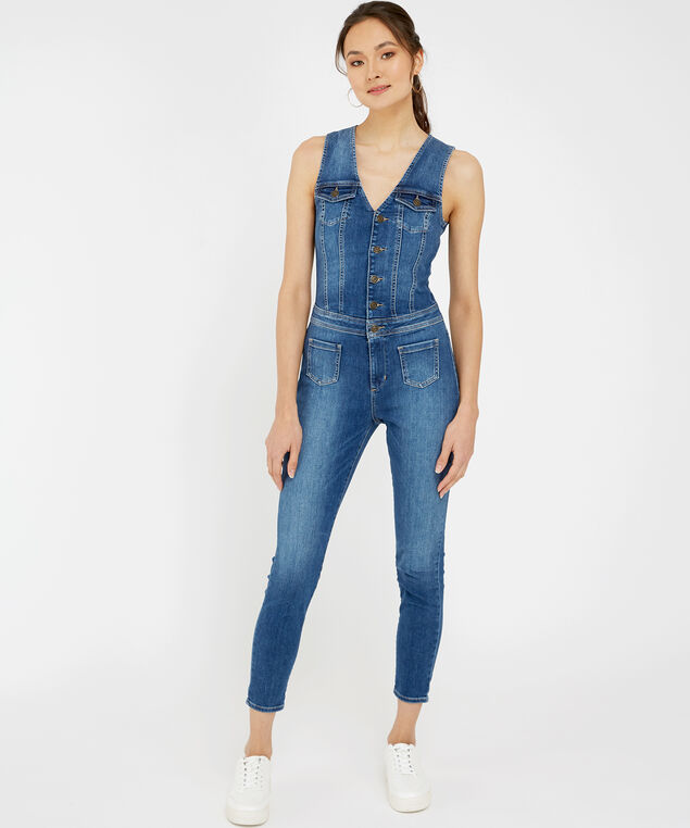 layla denim jumpsuit - wb, , hi-res