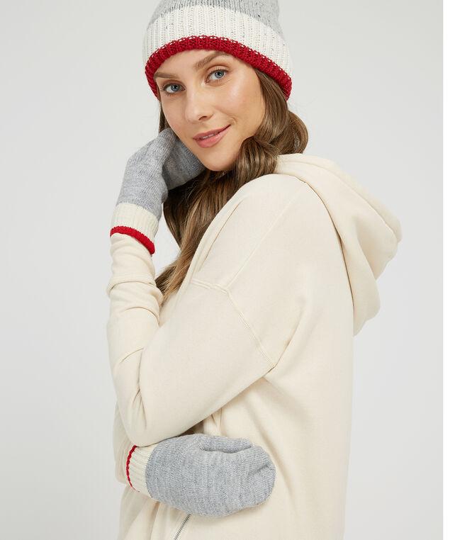 super soft cabin mittens, LT GREY, hi-res