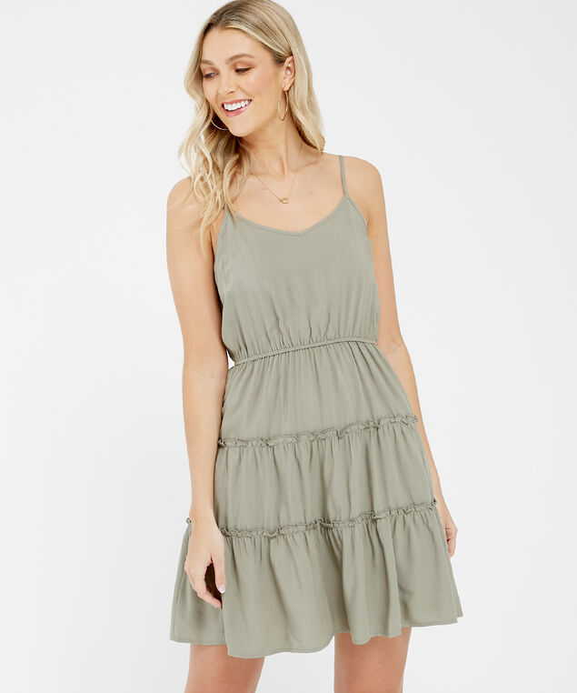 baby doll dress - wb, Sage, hi-res