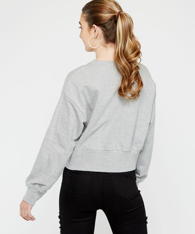 popover fleece - wb, Grey