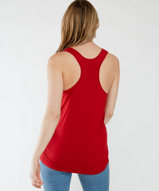 canadian drinking team tank, Red