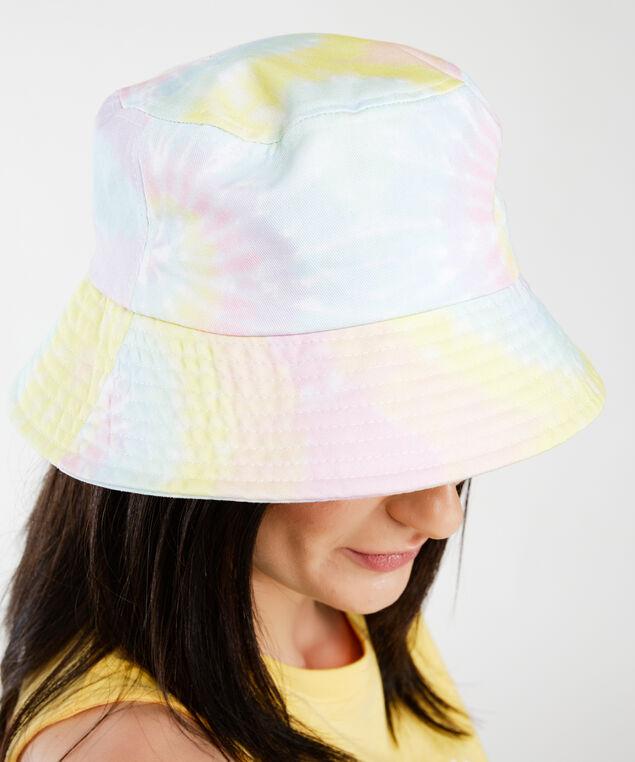 tie dye bucket hat, Pink